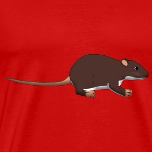 Rat Tops - Mannen Premium T-shirt