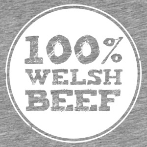 Wales rugby - 100% Welsh Beef - Hoodies - Men's Premium T-Shirt