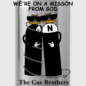 The Gas Brothers T-Shirts - Trinkflasche