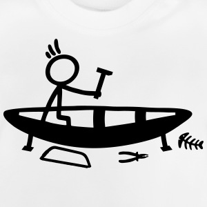 Build Stick Figure Boat Shirts - Baby T-Shirt