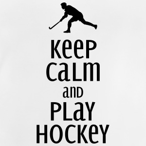 keep calm and play hockey Sweaters - Baby T-shirt