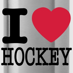 i love hockey / I heart hockey Sweatshirts - Drikkeflaske