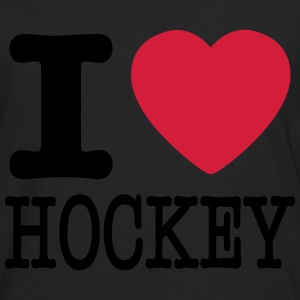 i love hockey / I heart hockey Sweaters - Mannen Premium shirt met lange mouwen