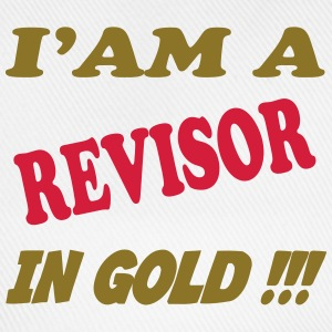 I'am a revisor in gold !!! T-skjorter - Baseballcap