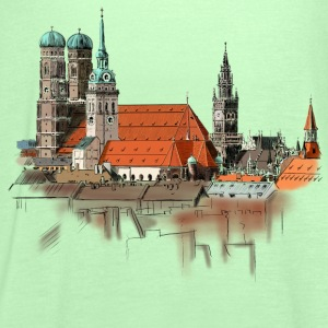 Munich T-Shirts - Women's Tank Top by Bella