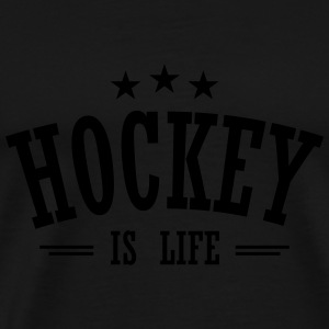 hockey is life 3 Gensere - Premium T-skjorte for menn