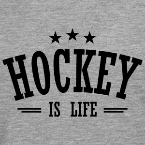 hockey is life 3 Sweaters - Mannen Premium shirt met lange mouwen