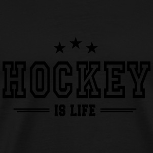 hockey is life 2 Sweats - T-shirt Premium Homme