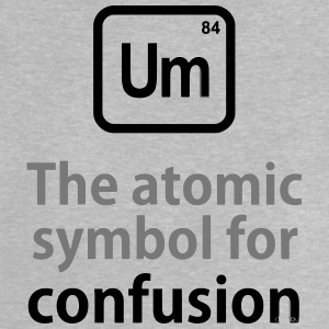 THE CHEMICAL ELEMENT OF CONFUSION Tee shirts - T-shirt Bébé