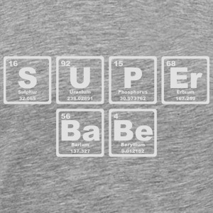 SUPERBABE PERIODIC TABLE OF THE ELEMENTS Sportkleding - Mannen Premium T-shirt