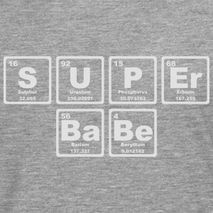 SUPERBABE PERIODIC TABLE OF THE ELEMENTS Skjorter - Premium langermet T-skjorte for menn