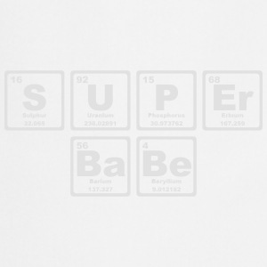 SUPERBABE PERIODIC TABLE OF THE ELEMENTS Torby i plecaki - Fartuch kuchenny