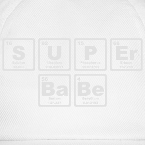 SUPERBABE PERIODIC TABLE OF THE ELEMENTS Long Sleeve Shirts - Baseball Cap