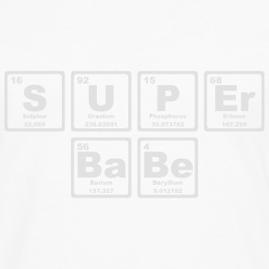 SUPERBABE PERIODIC TABLE OF THE ELEMENTS Shirts - Mannen Premium shirt met lange mouwen