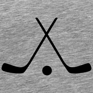 hockey sticks / hockey symbol Autres - T-shirt Premium Homme