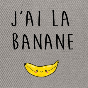 Banane Tee shirts - Casquette snapback