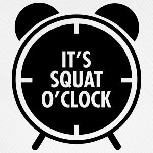 It's Squat O'Clock Sportkläder - Basebollkeps