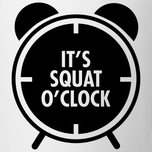 It's Squat O'Clock Débardeurs - Tasse