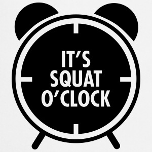 It's Squat O'Clock Tops - Cooking Apron