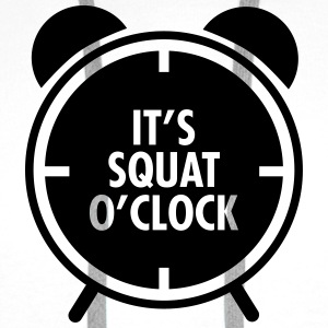 It's Squat O'Clock Toppe - Herre Premium hættetrøje