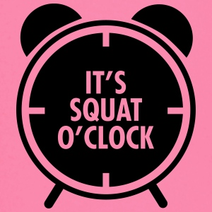 It's Squat O'Clock Toppe - Langærmet babyshirt