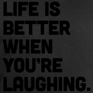 Life When You're Laughing  Tank Tops - Herresweatshirt fra Stanley og Stella