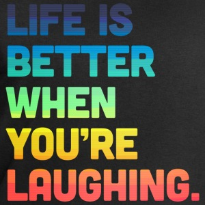 Life When You're Laughing 2 Tee shirts - Sweat-shirt Homme Stanley & Stella