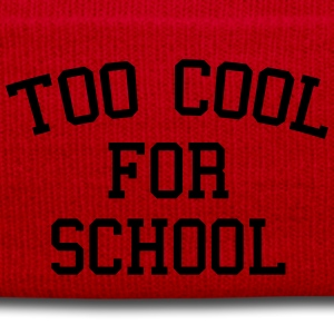 Too Cool For School T-Shirts - Winter Hat