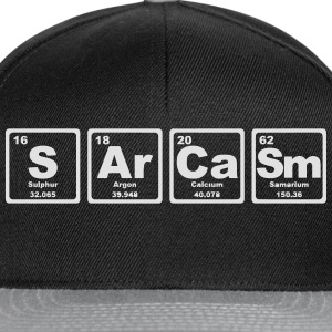 SARCASM PERIODIC TABLE Baby Bodysuits - Snapback Cap
