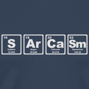 SARCASM PERIODIC TABLE Autres - T-shirt Premium Homme