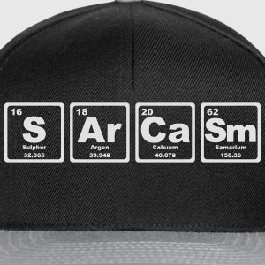 SARCASM PERIODIC TABLE Shirts - Snapback cap