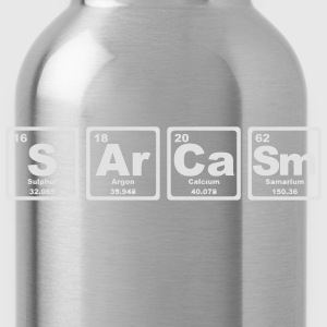 SARCASM PERIODIC TABLE Camisetas - Cantimplora