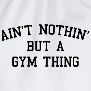 A Gym Thing Tops - Turnbeutel