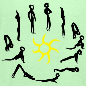 Yoga -  Sun greeting Magliette - Top da donna della marca Bella