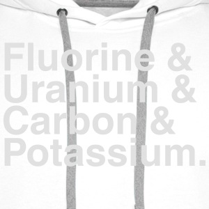 ELEMENTS OF THE PERIODIC TABLES T-shirts - Premiumluvtröja herr