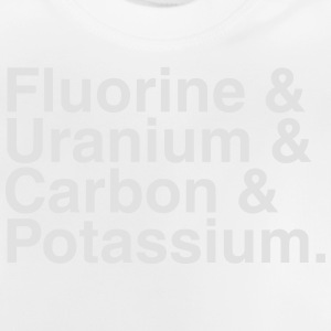 ELEMENTS OF THE PERIODIC TABLES Camisetas - Camiseta bebé