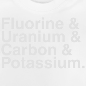 ELEMENTS OF THE PERIODIC TABLES Langærmede shirts - Baby T-shirt