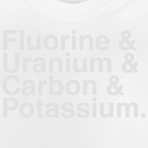 ELEMENTS OF THE PERIODIC TABLES Tee shirts - T-shirt Bébé
