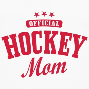 Hockey mom / hockey mother Kopper & tilbehør - Premium langermet T-skjorte for menn