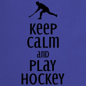 keep calm and play hockey Mugs & Drinkware - Cooking Apron