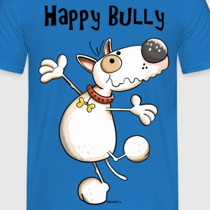 Happy Bullterrier Hoodies & Sweatshirts - Men's T-Shirt