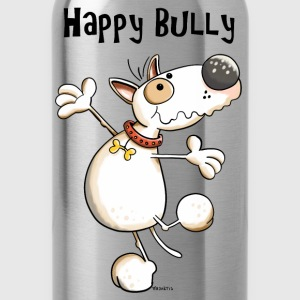 Happy Bullterrier Hoodies & Sweatshirts - Water Bottle