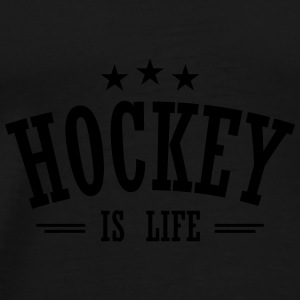 hockey is life 3 Bags & Backpacks - Men's Premium T-Shirt