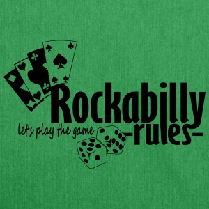 Rockabilly Rules - Schultertasche aus Recycling-Material