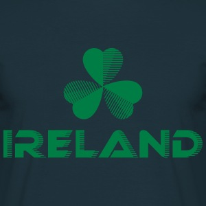Sporty Ireland Shamrock - Men's T-Shirt