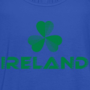 Sporty Ireland Shamrock - Women's Tank Top by Bella