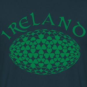 Irish Rugby Shamrocks - Men's T-Shirt