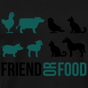 Friend or Food Tops - Männer Premium T-Shirt
