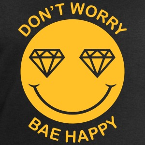 DON'T WORRY - BAE HAPPY Shirts - Men's Sweatshirt by Stanley & Stella