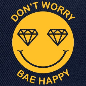 DON'T WORRY - BAE HAPPY Tops - Snapback cap